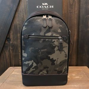 NWT Authentic Coach Camo Graham Pack